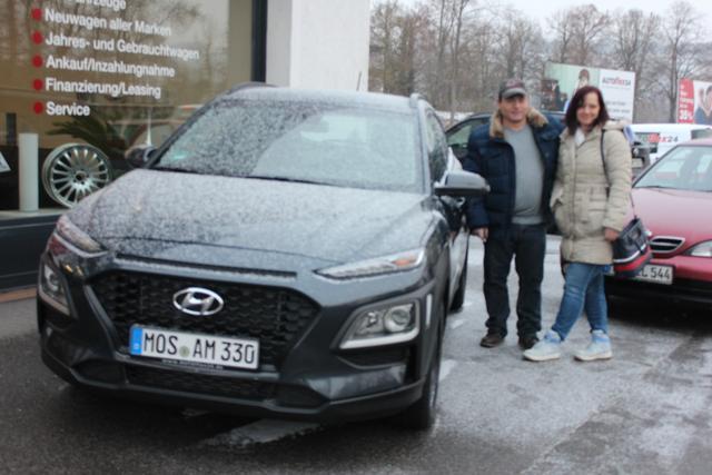 Auslieferung in Gundelsheim - Hyundai Kona