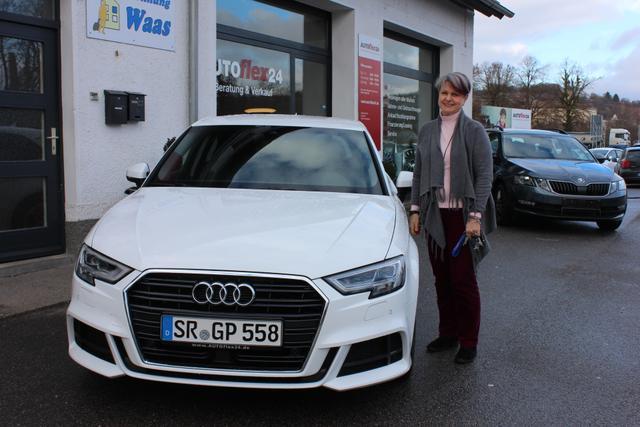 Auslieferung in Gundelsheim - Audi A3