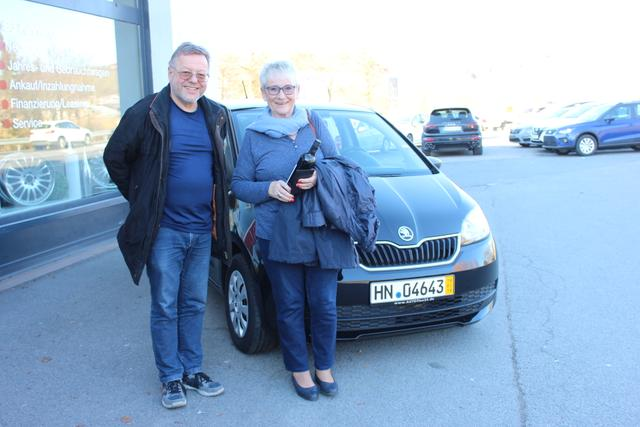 Auslieferung in Gundelsheim - Skoda Citigo