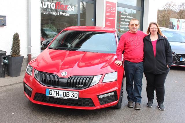 Auslieferung in Gundelsheim - Skoda Octavia RS Limousine