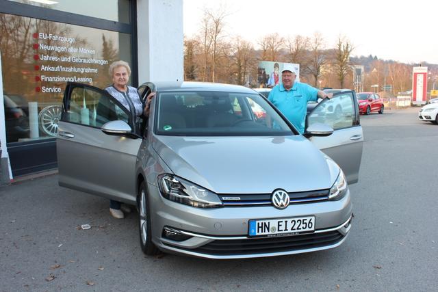 Auslieferung in Gundelsheim - Volkswagen Golf Maraton