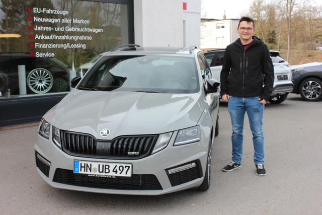 Auslieferung in Gundelsheim - Skoda Octavia RS Kombi