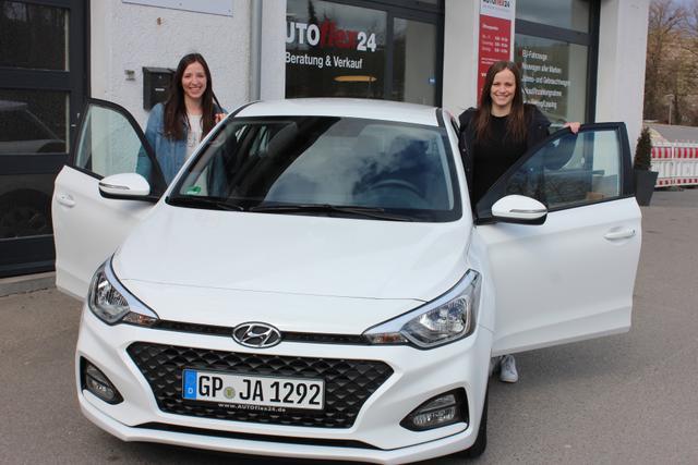 Auslieferung in Gundelsheim - Hyundai i10