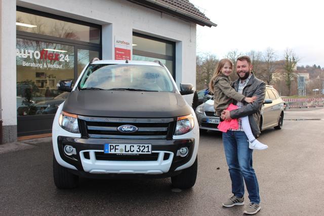 Auslieferung in Gundelsheim - Ford Ranger