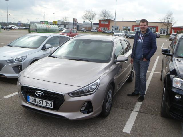 Auslieferung in Waghäusel - Hyundai i30 Kombi Premium