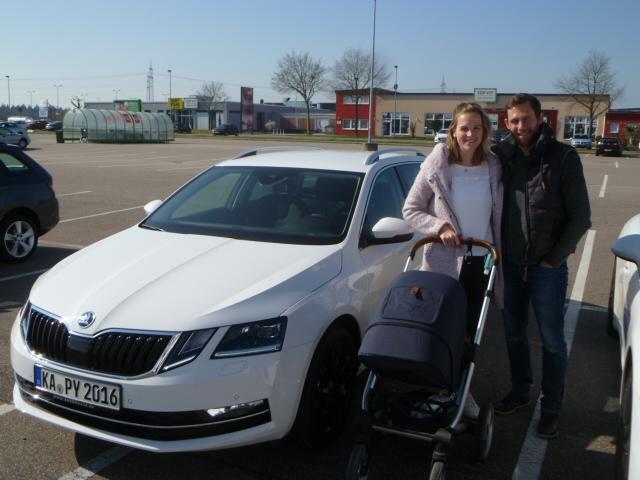 Auslieferung in Waghäusel - Skoda Octavia RS Kombi