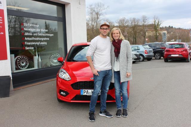Auslieferung in Gundelsheim - Ford Fiesta ST Line