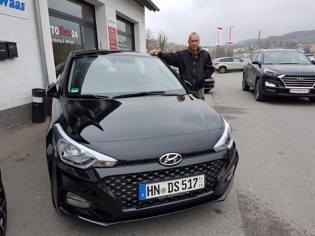 Auslieferung in Gundelsheim - Hyundai i20