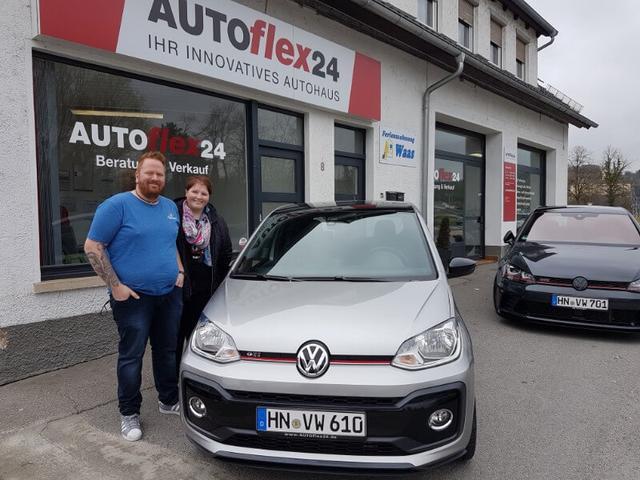 Auslieferung in Gundelsheim - VW up! GTI