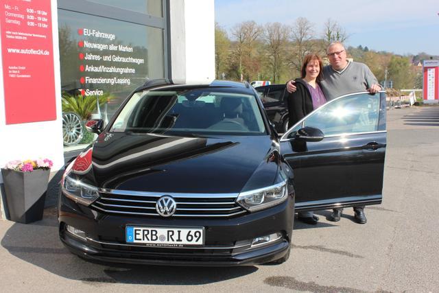 Auslieferung in Gundelsheim - VW Passat Kombi CL