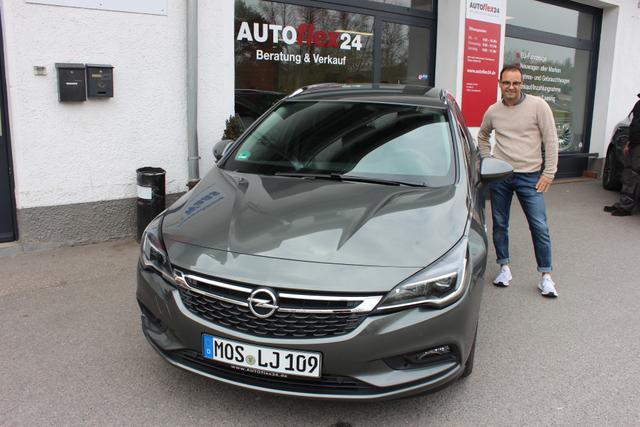Auslieferung in Gundelsheim - Opel Astra Kombi