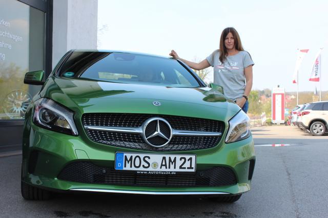 Auslieferung in Gundelsheim - Mercedes A Klasse