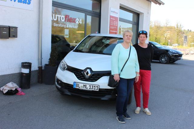 Auslieferung in Gundelsheim - Renault Capture
