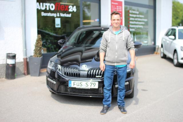 Auslieferung in Gundelsheim Skoda Octavia RS Combi
