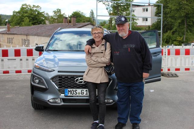 Auslieferung in Gundelsheim - Hyundai Kona Premium