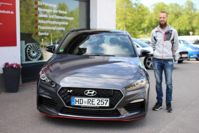 Auslieferung in Gundelsheim - Hyundai i30N Performance