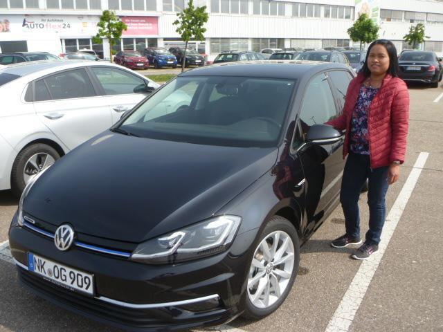 Auslieferung in Waghäusel - VW Golf VII
