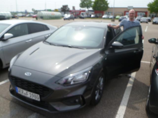 Auslieferung in Waghäusel - Ford Focus ST Line