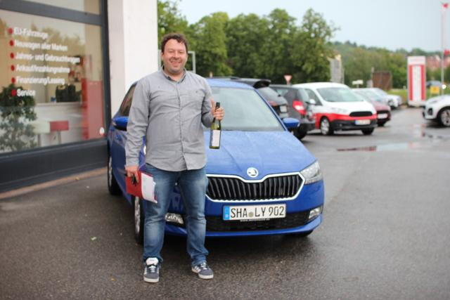 Auslieferung in Gundelsheim - Skoda Fabia 2019