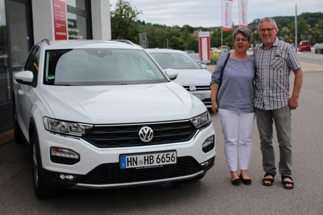 Auslieferung in Gundelsheim - VW T-Roc