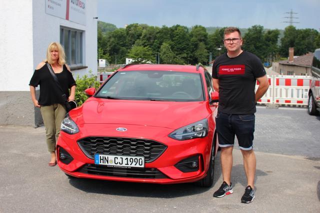 Auslieferung in Gundelsheim - Ford Focus ST Line