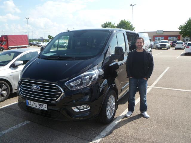 Auslieferung in in Waghäusel - Ford Tourneo Custom