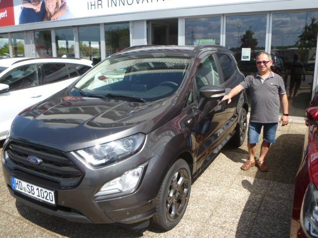 Auslieferung in Waghäusel - Ford EcoSport Titanium