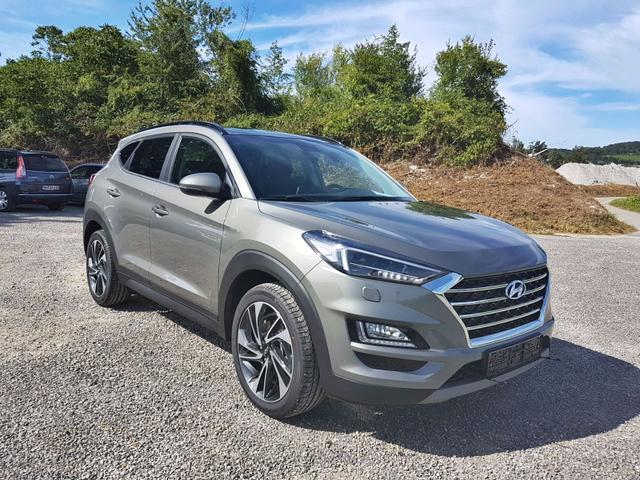 Hyundai Tucson - Face DCT Voll-LED KlimAuto Navi Kamera Pano DAB