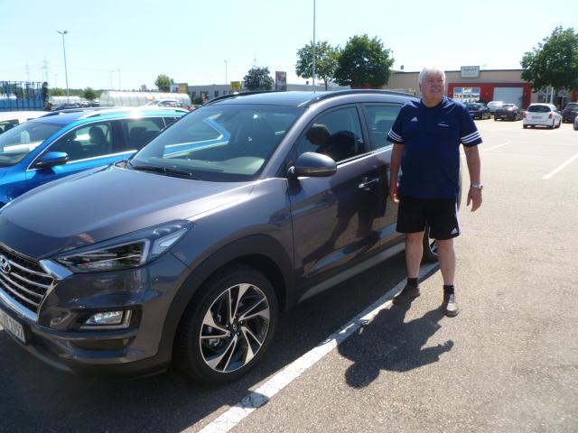 Auslieferung in Waghäusel - Hyundai Tucson