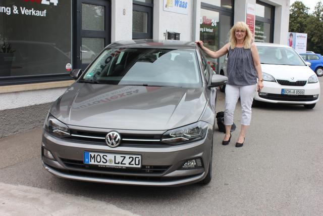 Auslieferung in Gundelsheim - VW Polo
