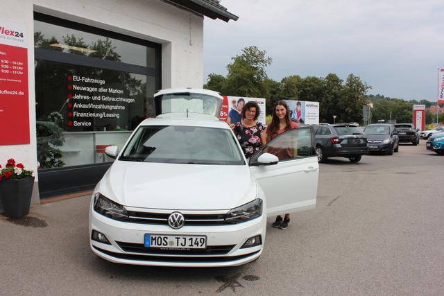Auslieferung in Gundelsheim - VW Polo Highline