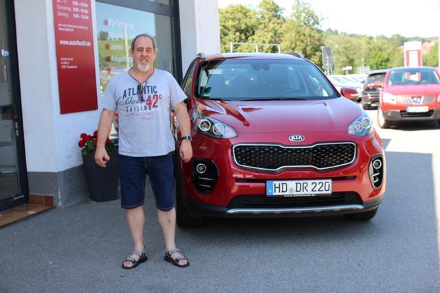 Auslieferung in Gundelsheim - Kia Sportage