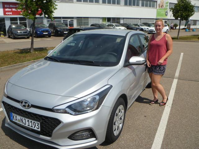 Auslieferung in Waghäusel - Hyundai i20