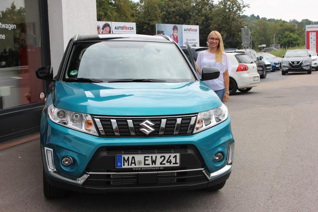 Auslieferung in Gundelsheim - Suzuki Vitara