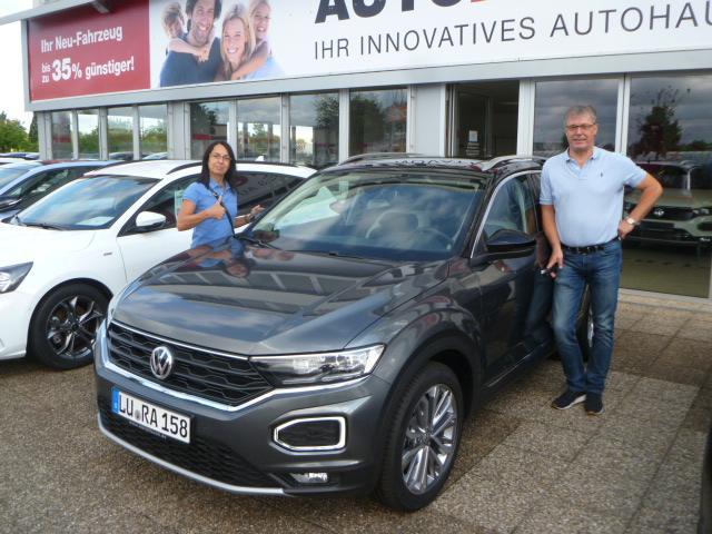Auslieferung in Waghäusel - VW T-Roc