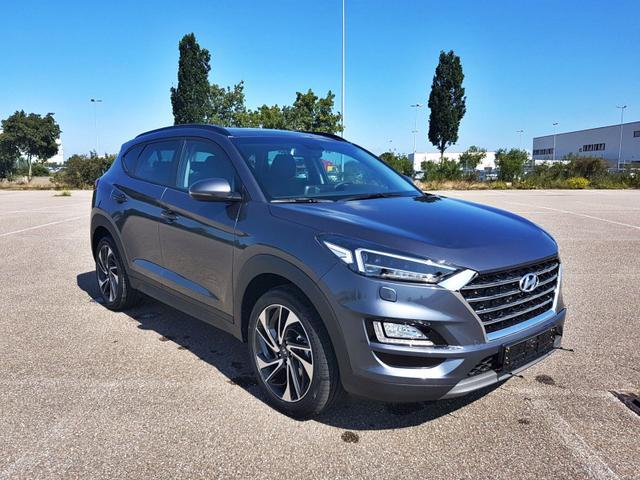 Lagerfahrzeug Hyundai Tucson - Face DCT Trend Pano Leder 19 Zoll Navi Voll-LED