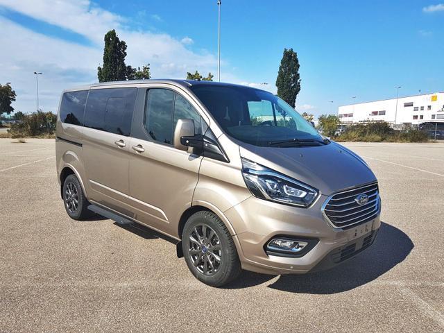 Ford Tourneo Custom - L1 Titanium X 185 AT 8 Sit. Klima Vor+Hint PDC Temp SHZ LMF Kamera NAVI Xenon Leder AHK