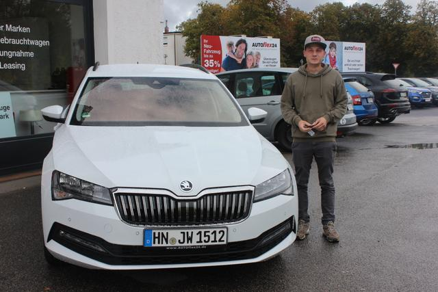 Auslieferung in Gundelsheim - Skoda Superb Facelift