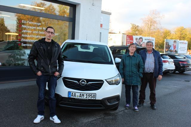Auslieferung in Gundelsheim - Opel Crossland