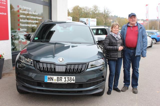 Auslieferung in Gundelsheim - Skoda Karoq