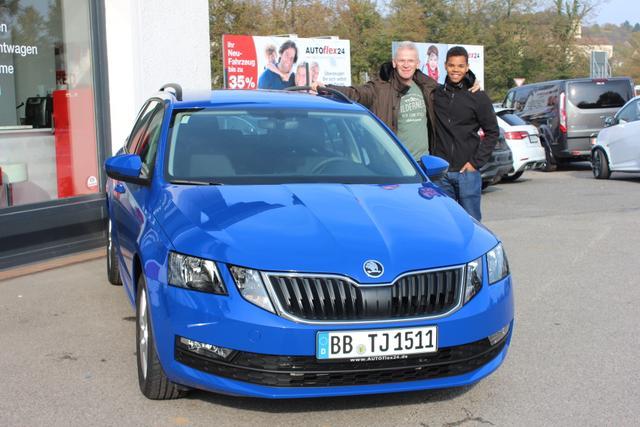 Auslieferung in Gundelsheim - Skoda Octavia