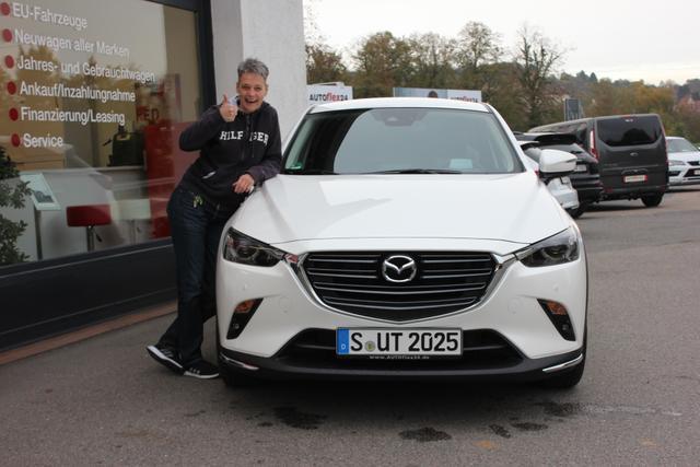 Auslieferung in Gundelsheim - Mazda CX3