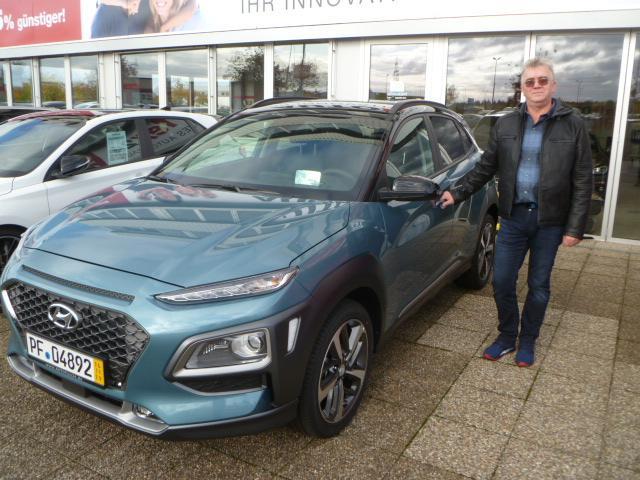 Auslieferung in Waghäusel - Hyundai Kona
