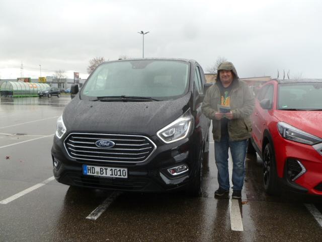 Auslieferung in Waghäusel - Ford Tourneo Custom Titanium