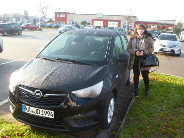 Auslieferung in Waghäusel - Opel Crossland