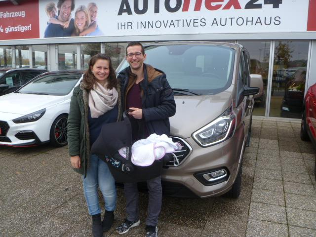 Auslieferung in Waghäusel - Ford Tourneo Custom