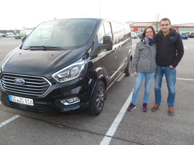 Auslieferung Ford Tourneo Titanium