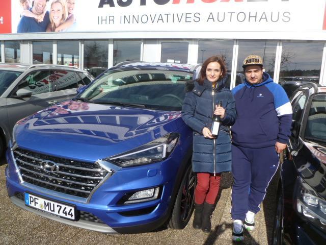 Auslieferung Hyundai Tucson Premium