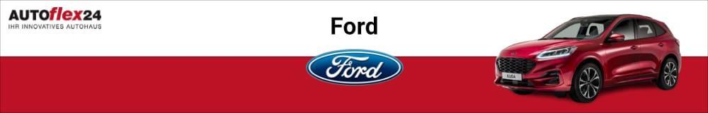 Ford EU-Neuwagen günstig kaufen, leasen oder finanzieren bei AUTOflex24