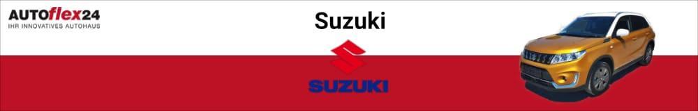 Suzuki EU-Neuwagen günstig kaufen, leasen oder finanzieren bei AUTOflex24